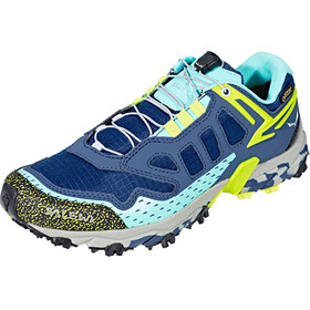 Salewa Ultra Train GTX Shoes Women Dark Denim/Aruba Blue